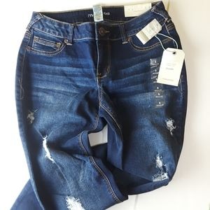 NWT Maurice Distressed Jeggings Small Regular